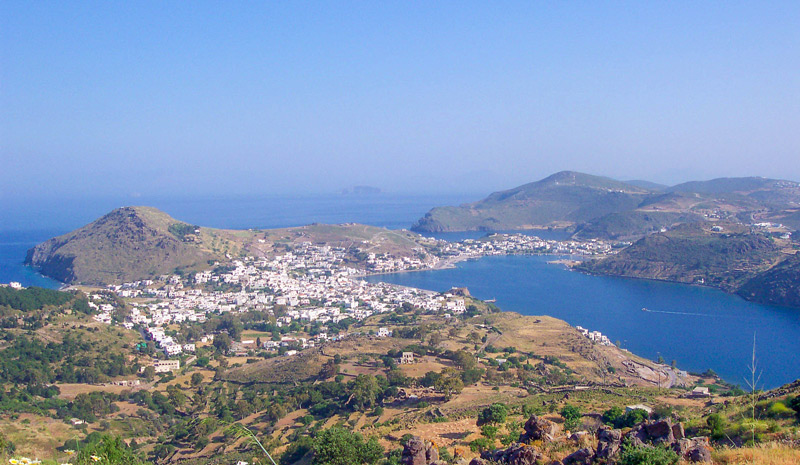 Patmos - view from the monastery