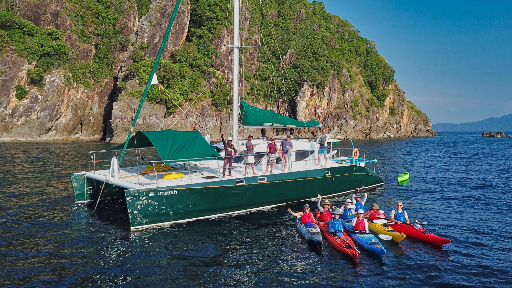 Mahayana kayaks - cruising Phuket
