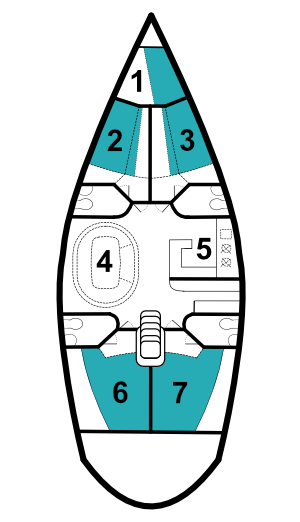 Atlantic 49 layout - Angelina