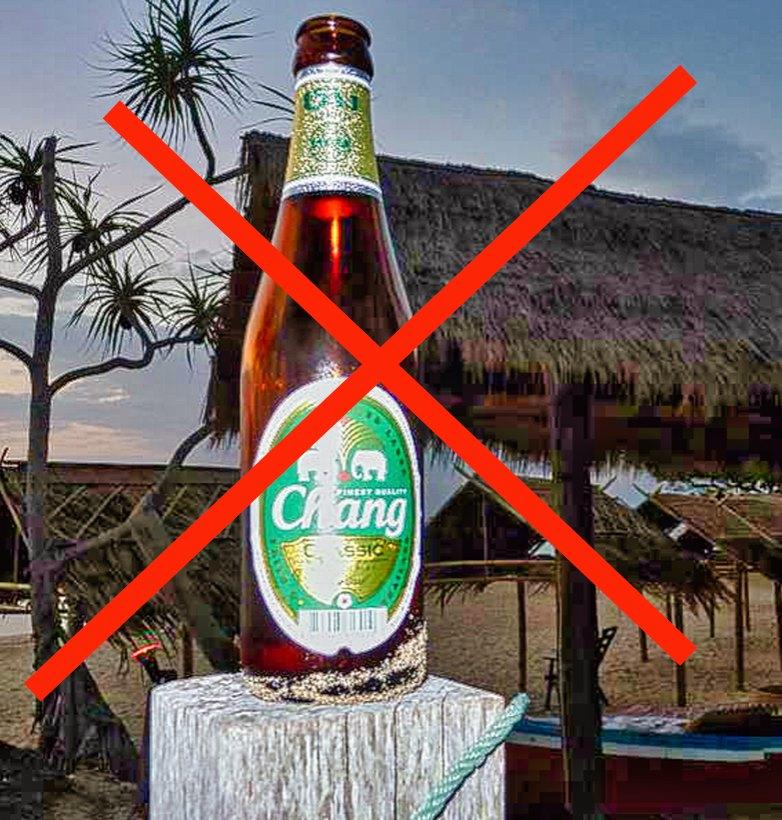 No alcohol in Thailand quarantine